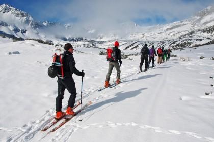 Szkolenie dla narciarzy skiturowych
