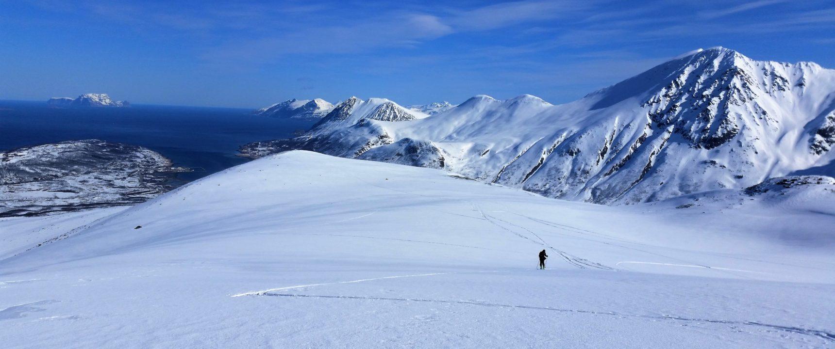 Alpy Lyngeńskie narty sikture
