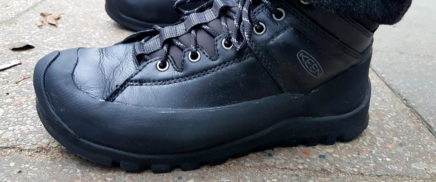 Keen Citizen test butów